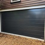M Ribbed Silkgrain Sectional in Anthracite Grey