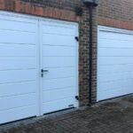 garage door after installation