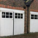 garage door before installation